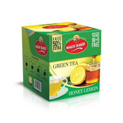 Honey Lemon Green Tea Bags