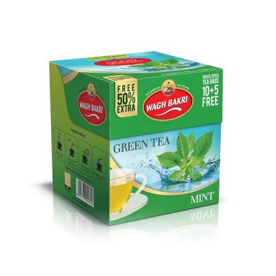 Mint Green Tea Bags