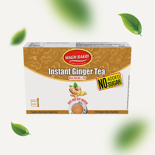 Ginger Instant Tea - No Added Sugar