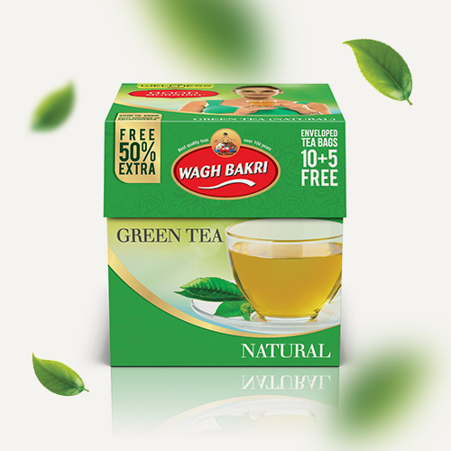 Natural Green Tea Bags